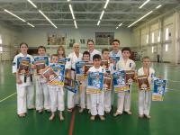 Сборы по боевой подготовке Анжелики Сабаевой