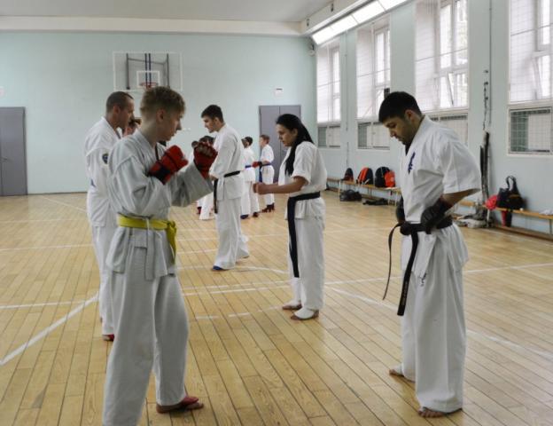 Экзамен под руководством сэнсэя Криводедова А.В 15 мая 2016